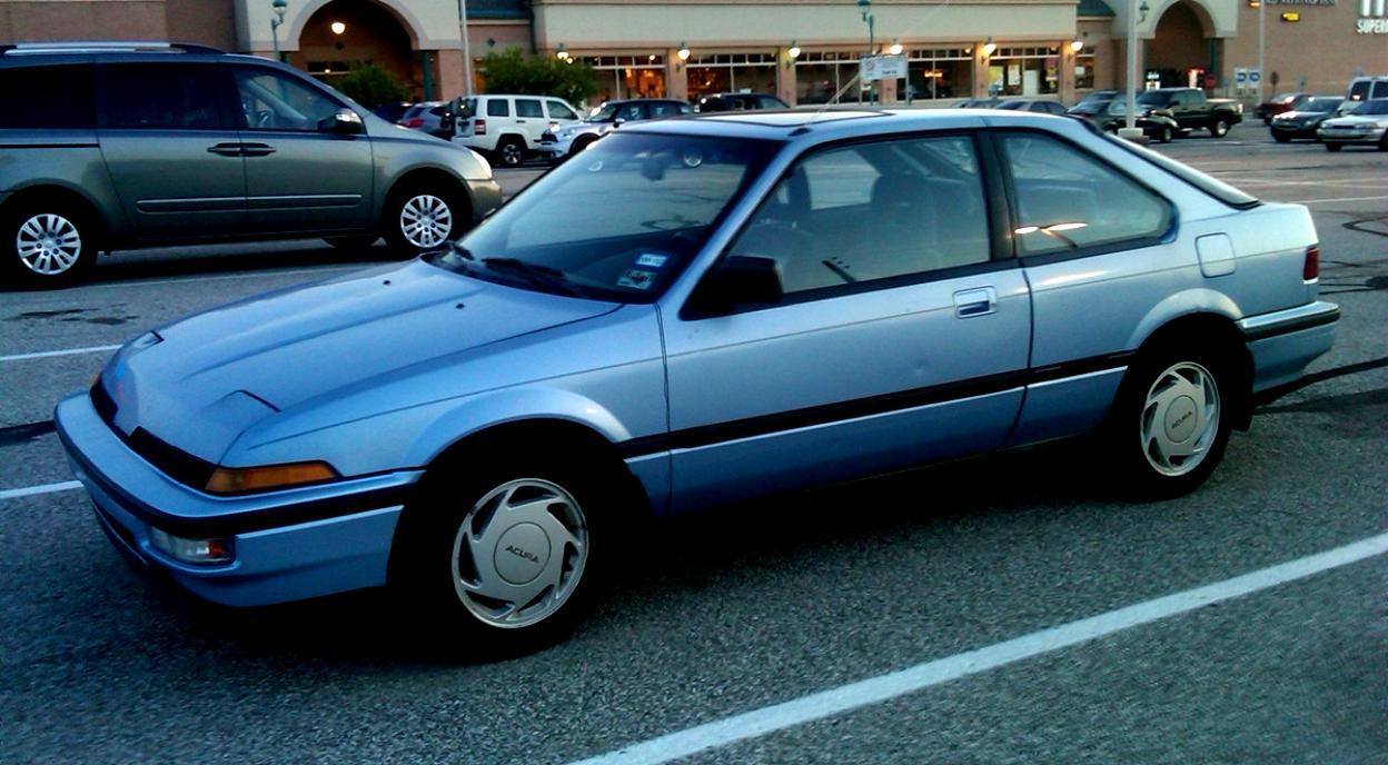 /'91 honda integra Coupe XSI en negro Tomytec tomica Limousine vint neo lv-n197b,1//64