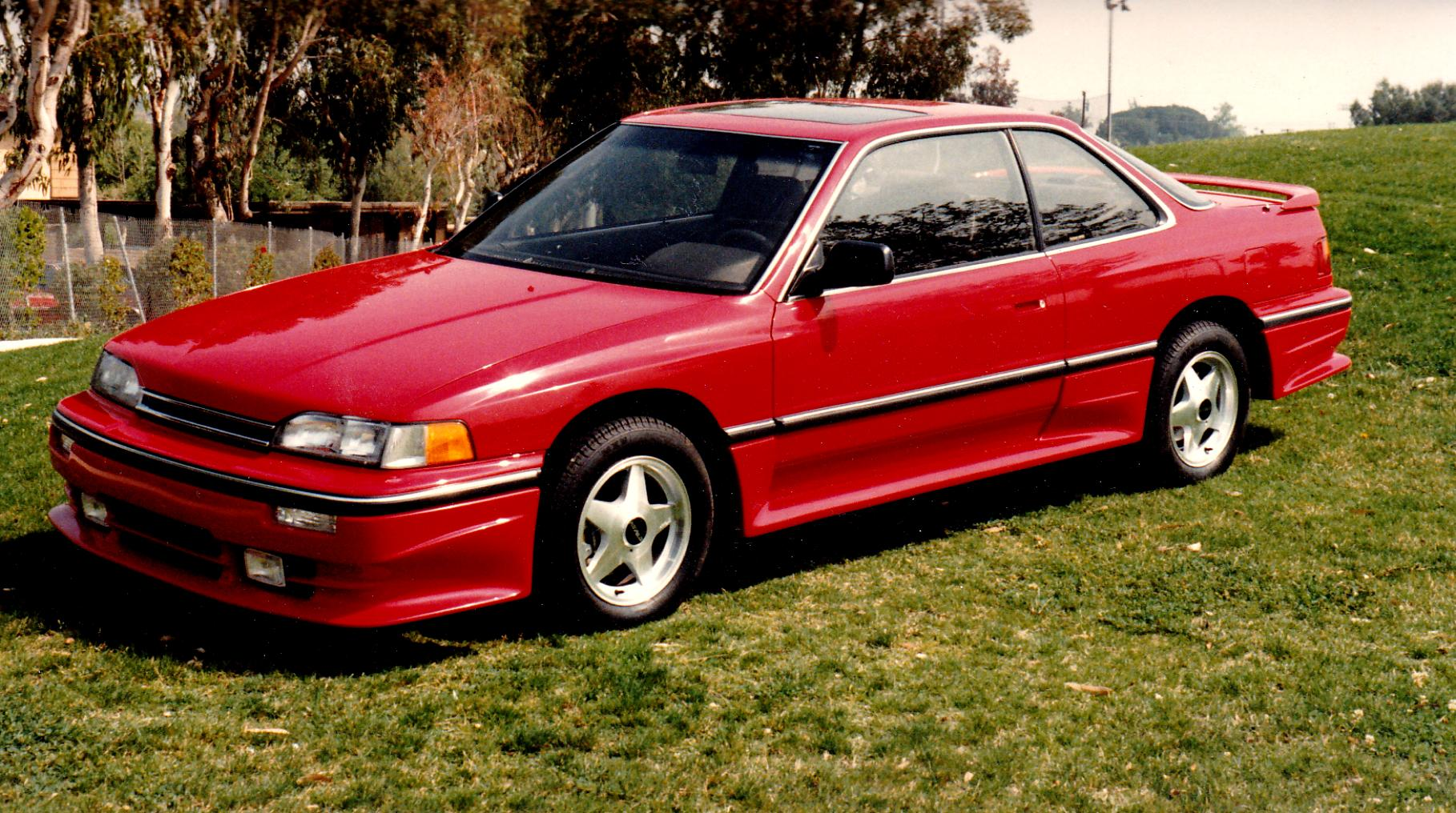 Acura Legend Coupe 1987 On Motoimg Com