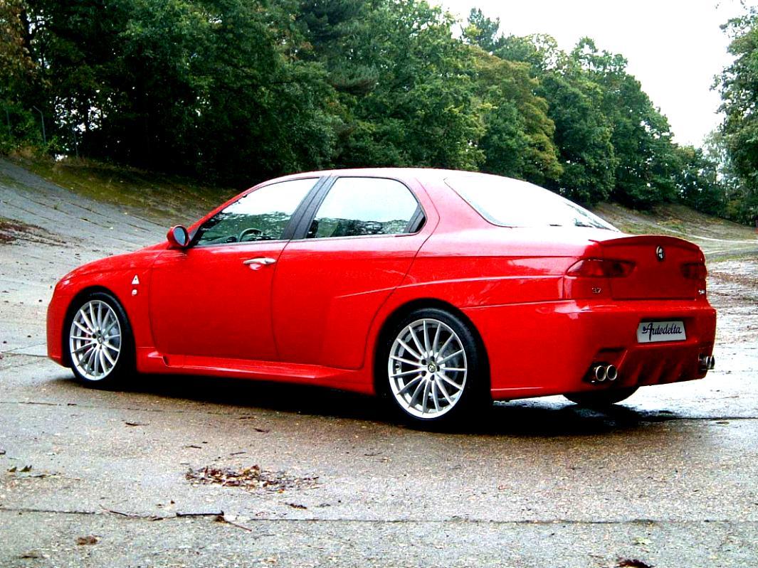 Alfa romeo 156 gta top speed 10