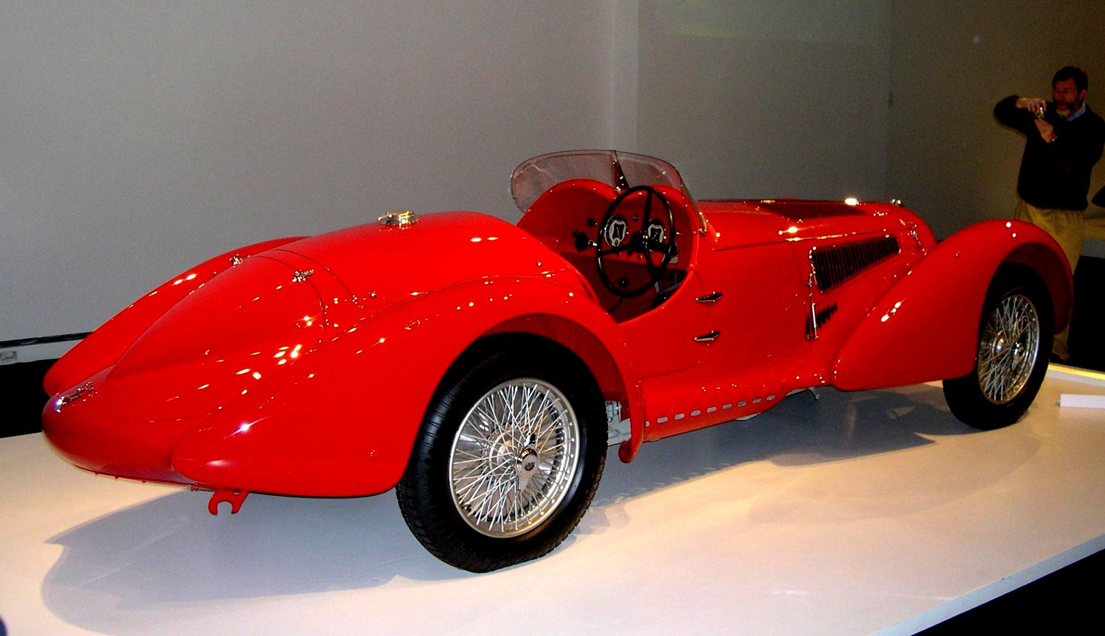 Alfa Romeo C B on Alfa Romeo 8c 2900