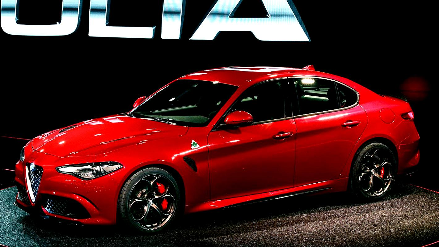 alfa romeo giulia quadrifoglio verde 2016 on. Black Bedroom Furniture Sets. Home Design Ideas