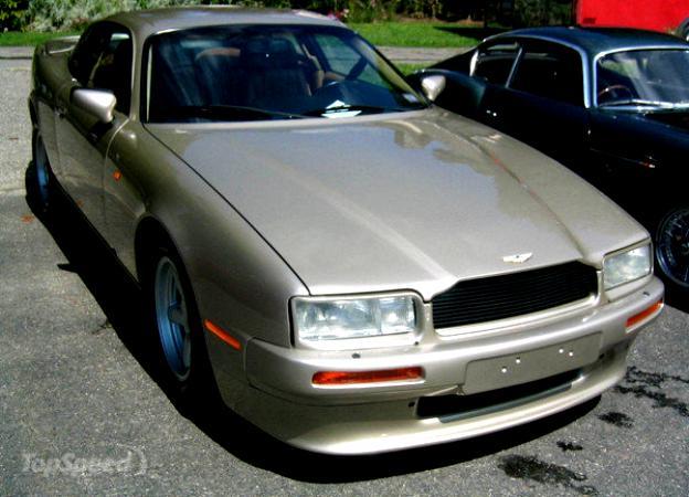 Aston Martin Virage Coupe 1988 On Motoimg