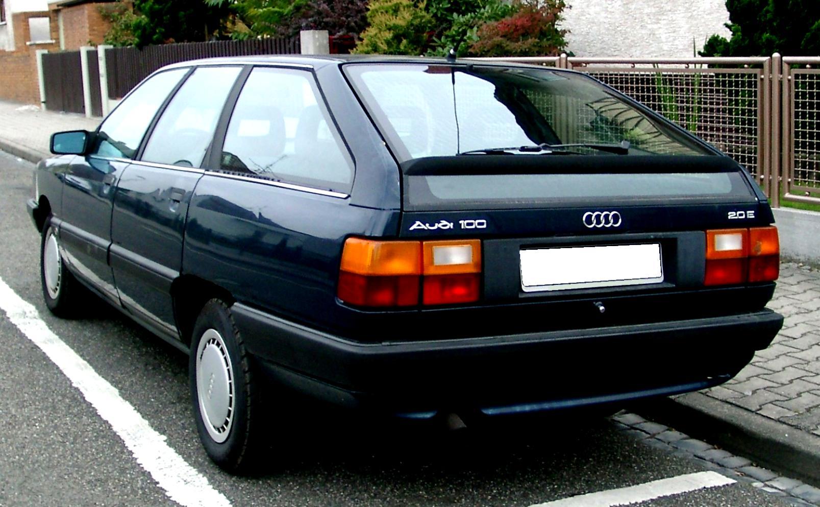 Audi 100 Avant C3 1983 on MotoImg.com