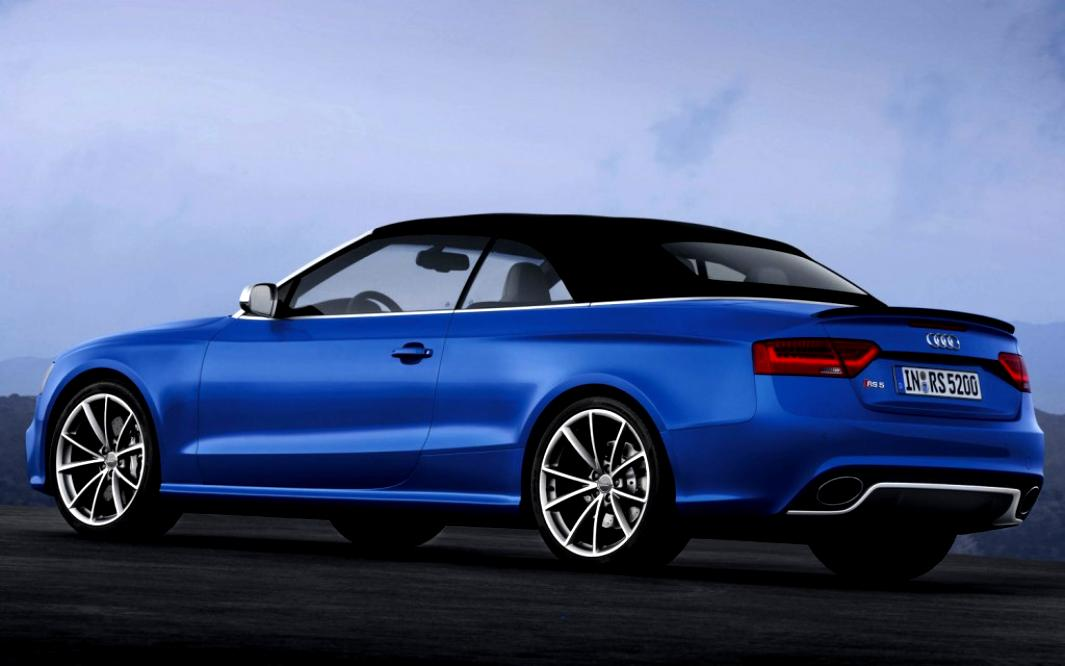Audi RS5 Cabriolet 2013 #4