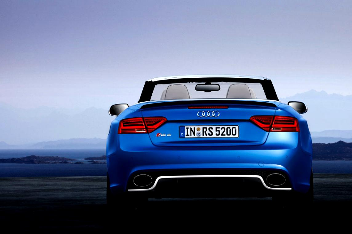 Audi RS5 Cabriolet 2013 #6
