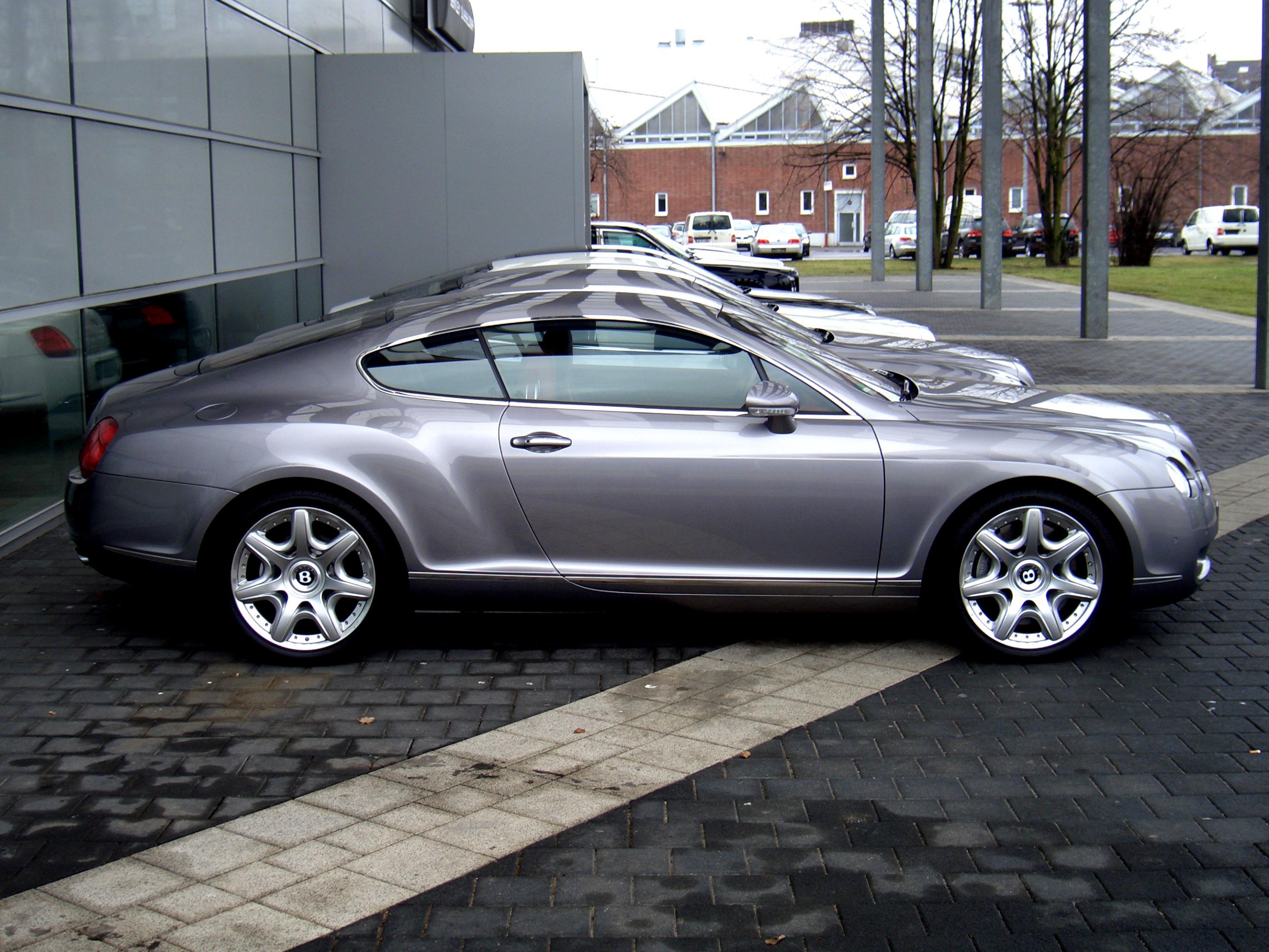 Bentley continental gt 2003 on motoimg bentley continental gt 2003 2 vanachro Gallery