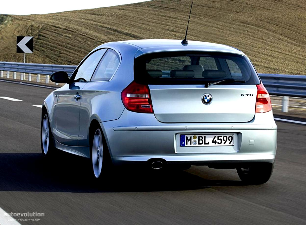 BMW 1 Series 3 Doors E81 2007 #16