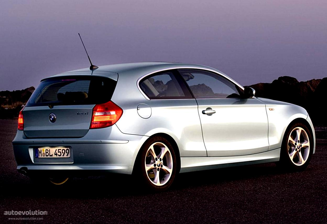 BMW 1 Series 3 Doors E81 2007 #19