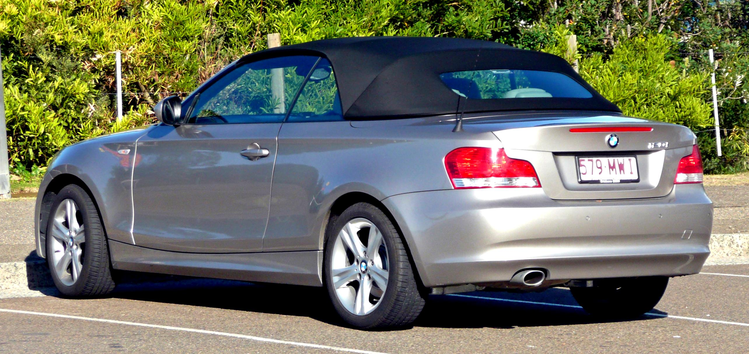 BMW 1 Series Cabriolet E88 2010 #2