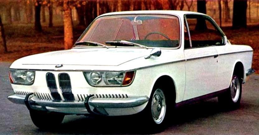 Bmw 2000 Cs 1965 On Motoimg Com