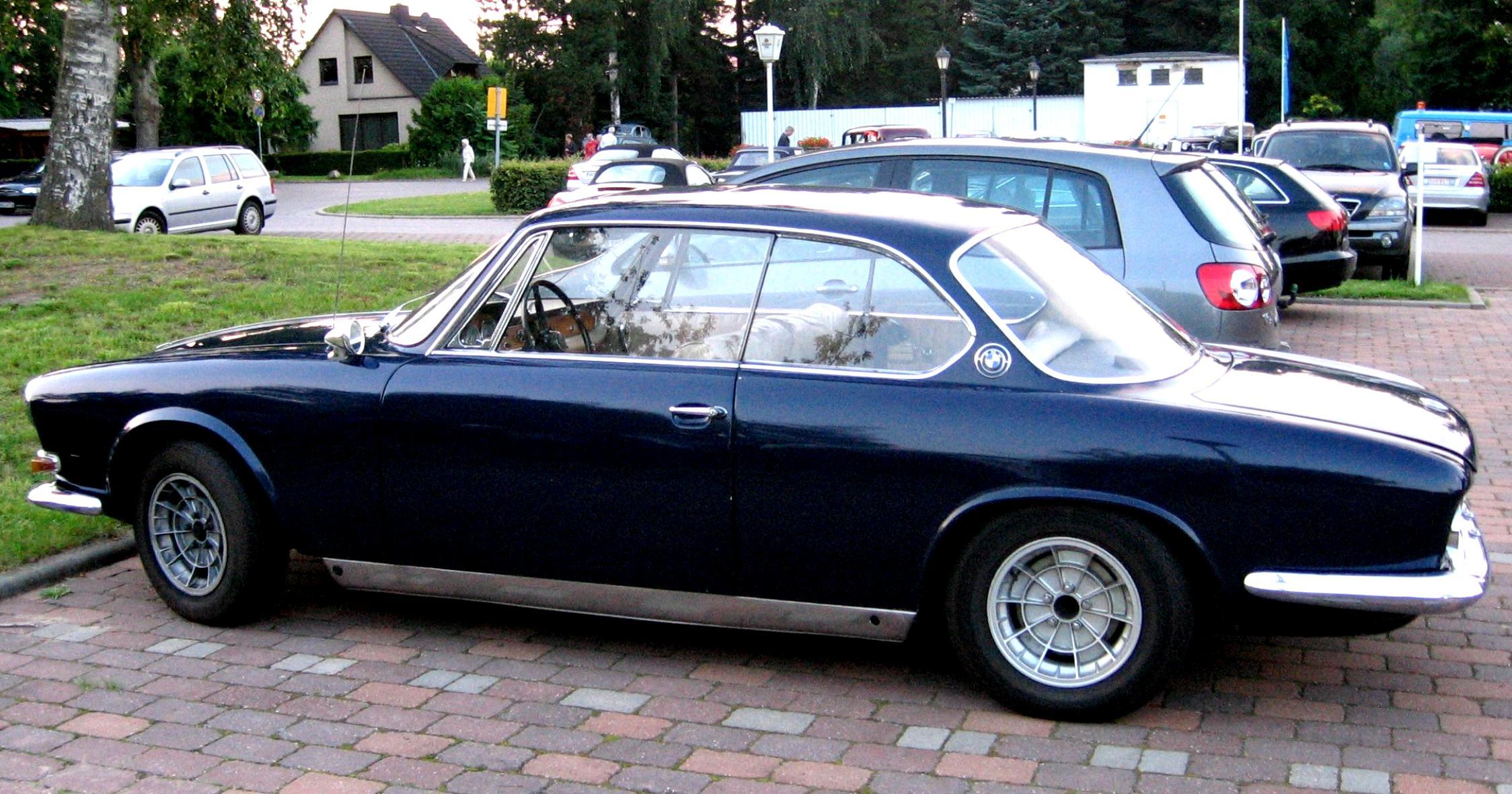 BMW 3200 Coupe CS 1962 on MotoImg.com
