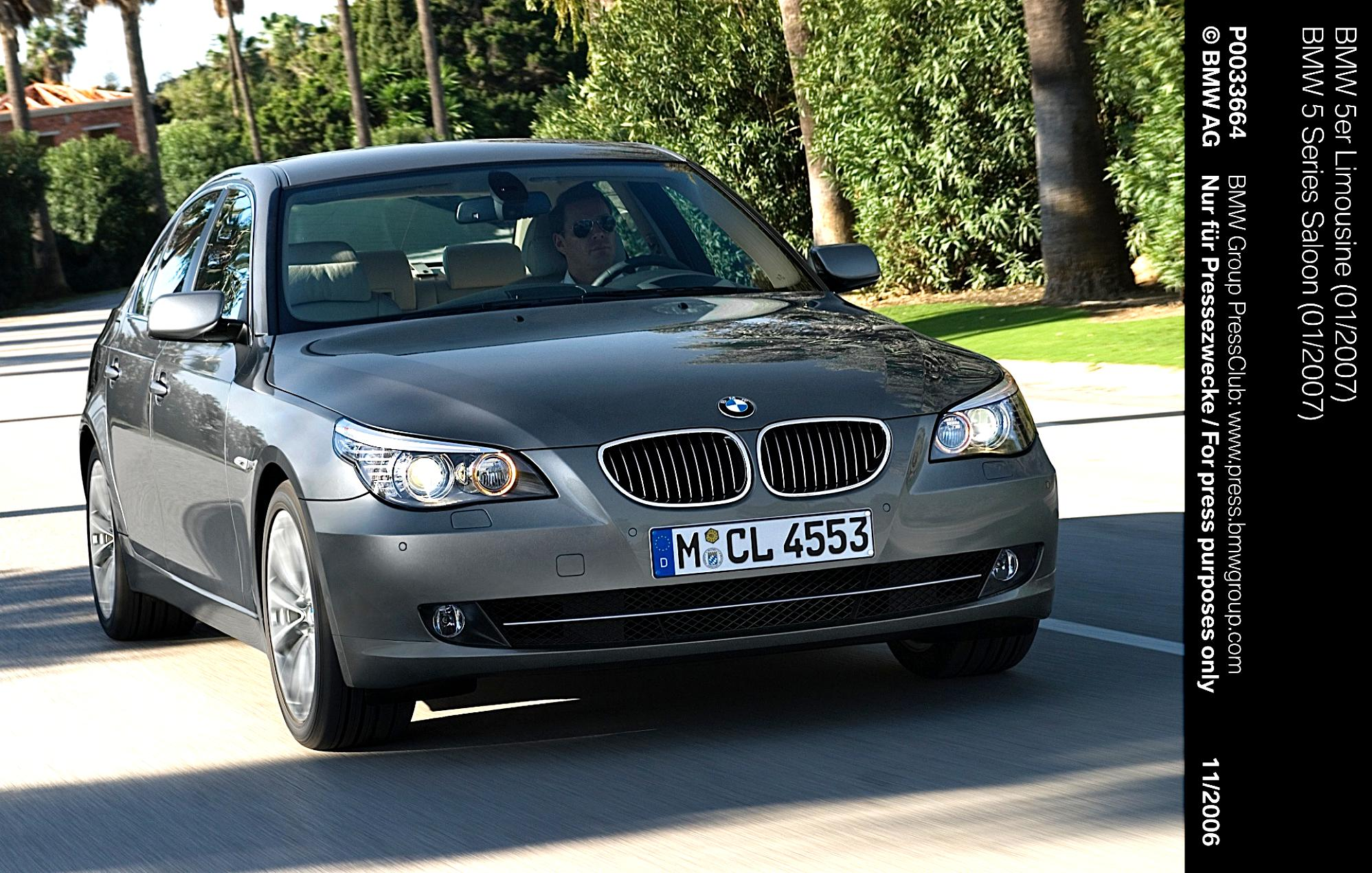 bmw 5 series e60 2007 photos 26 on. Black Bedroom Furniture Sets. Home Design Ideas