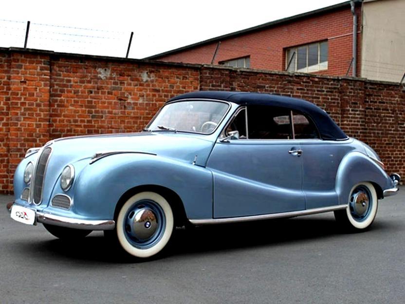 BMW 501/502 1952 on MotoImg.com