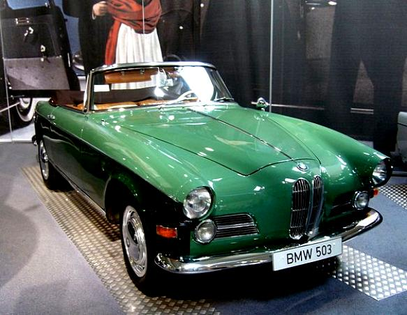 BMW 503 Coupe 1956 #7