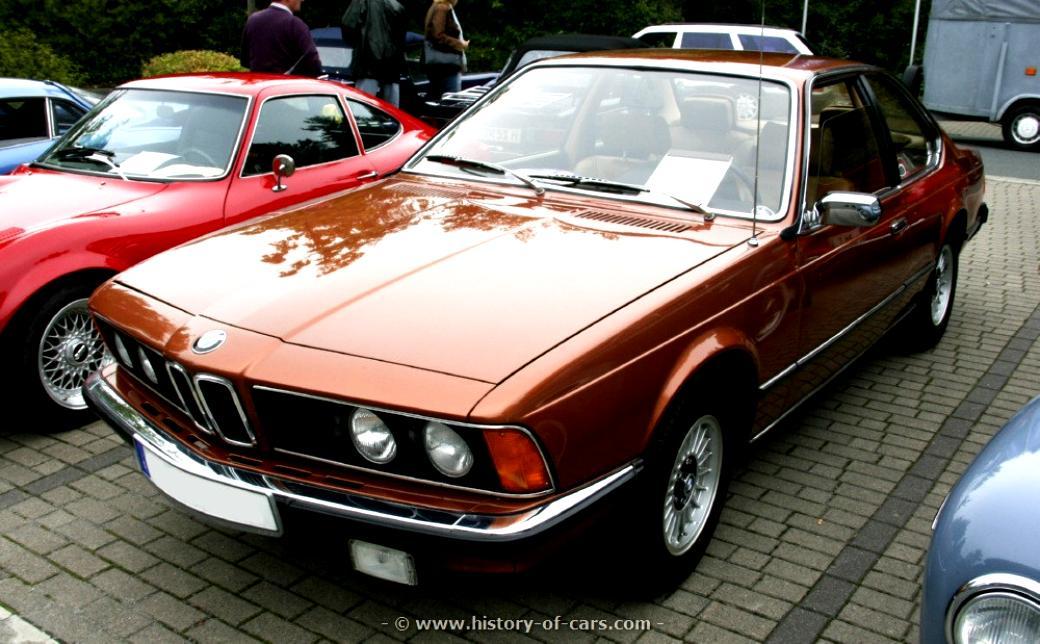 BMW 630 CS E24 1976 on MotoImg.com