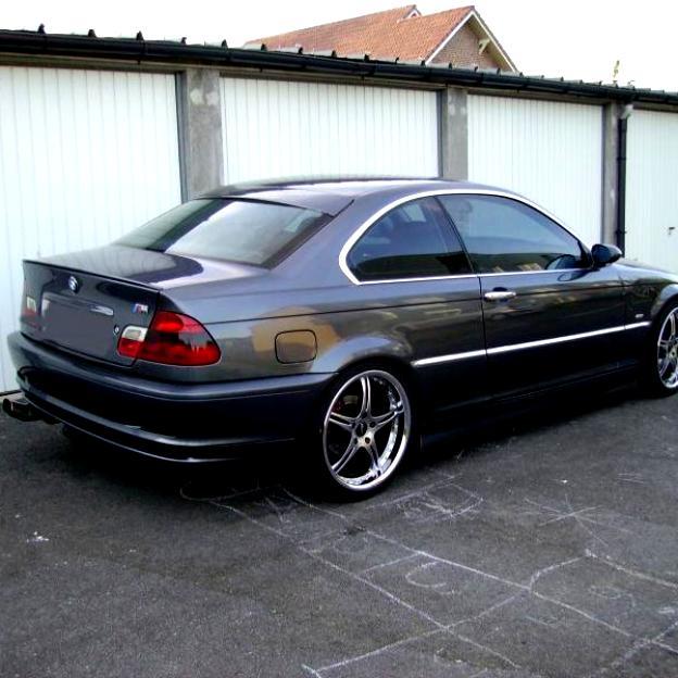 2000 Bmw M3: BMW M3 Coupe E46 2000 On MotoImg.com