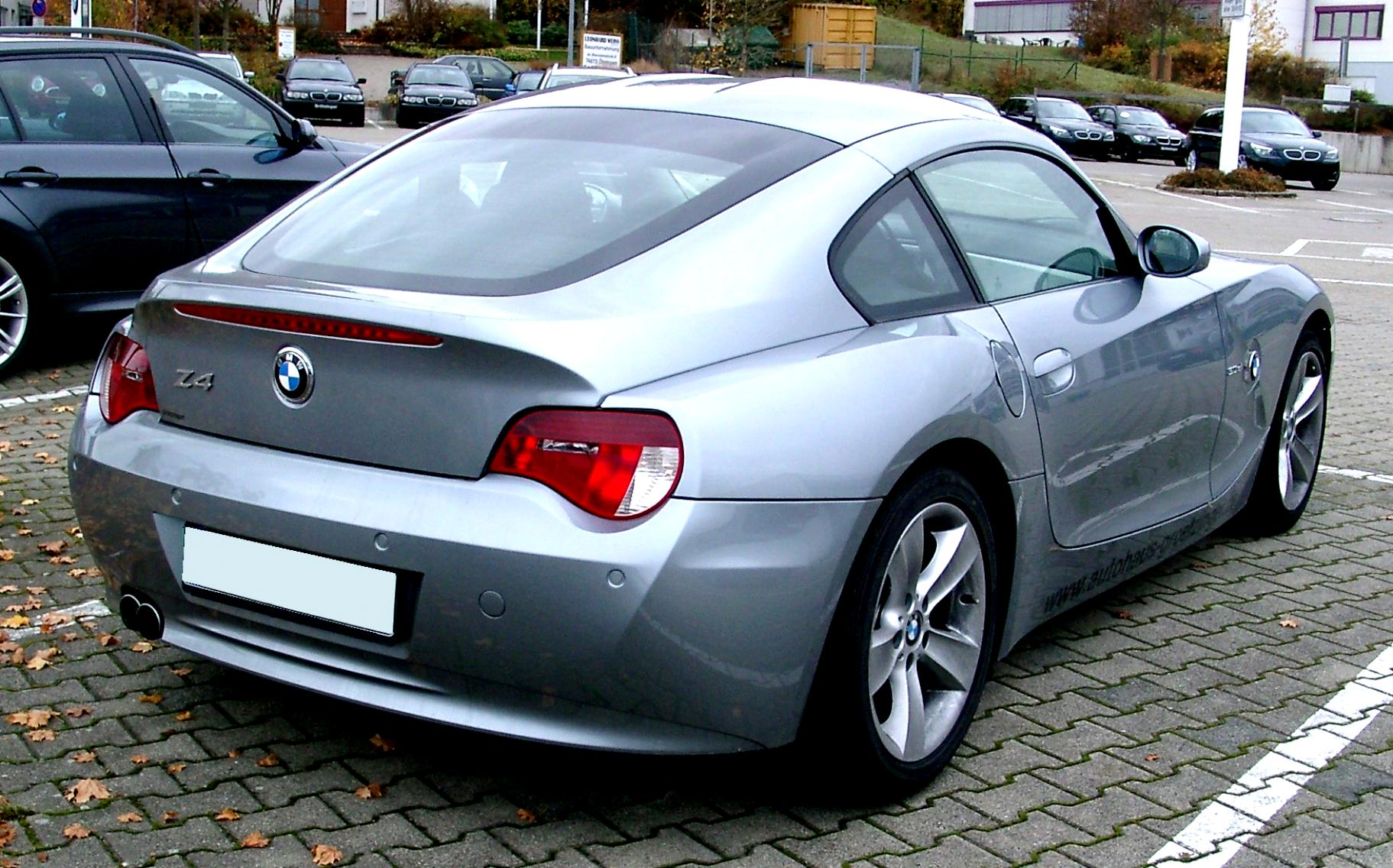 Bmw Z4 M Roadster E85 2006 On Motoimg Com