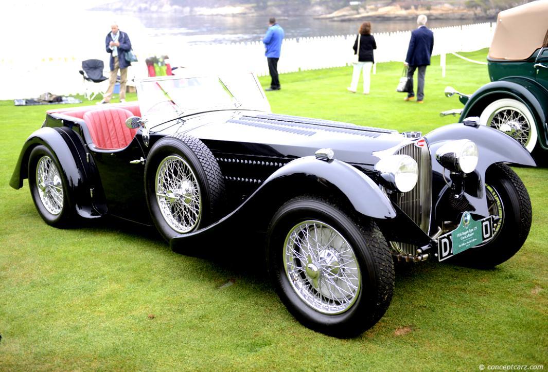 Bugatti Type 57 S 1936 On Motoimg Com