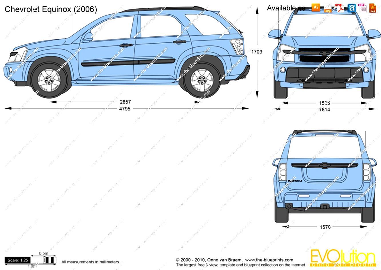 Chevrolet Equinox 2004 on MotoImgcom