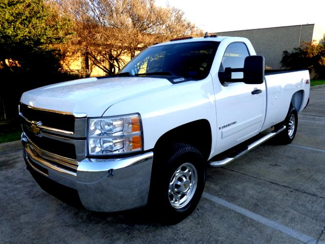 Chevrolet Silverado 2500HD Regular Cab 2008 #11