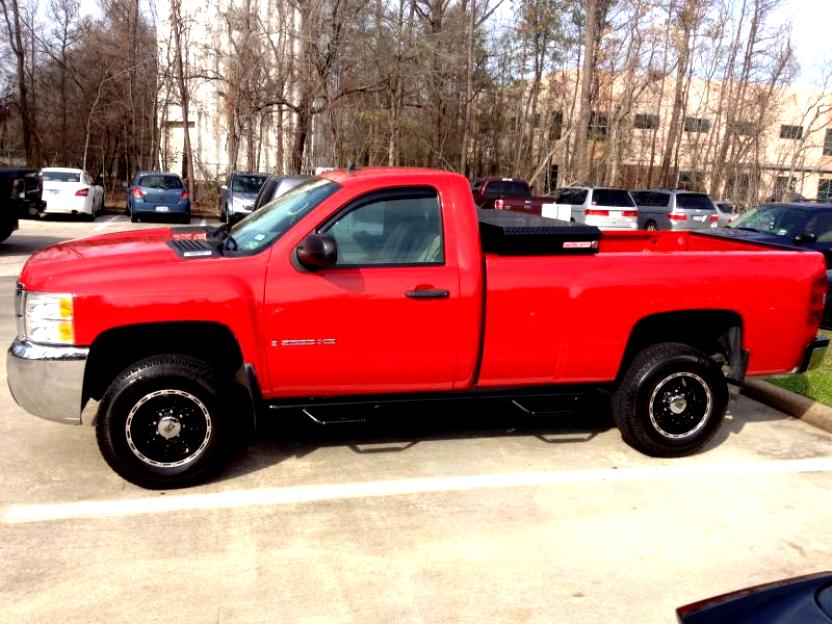Chevrolet Silverado 2500HD Regular Cab 2008 #12