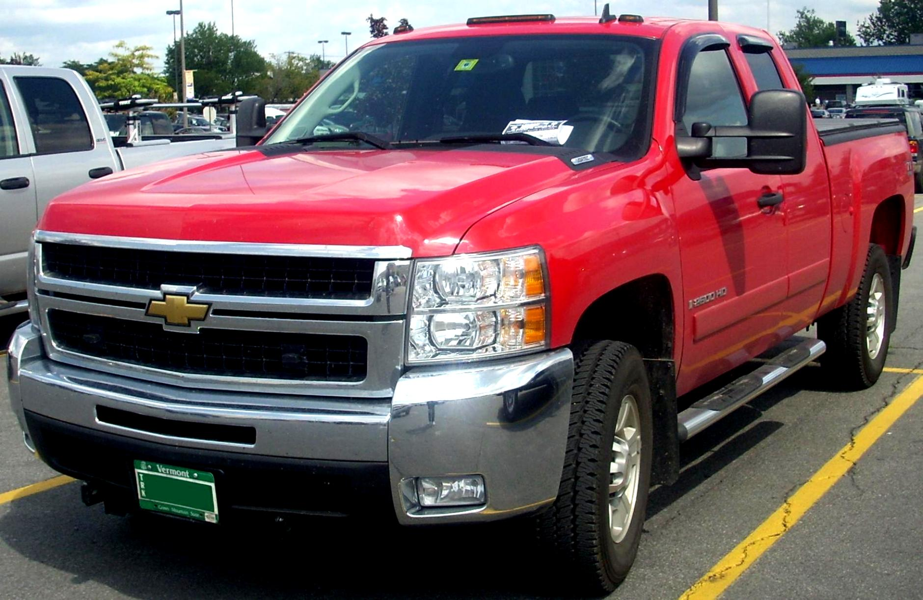 Chevrolet Silverado 2500HD Regular Cab 2008 #15