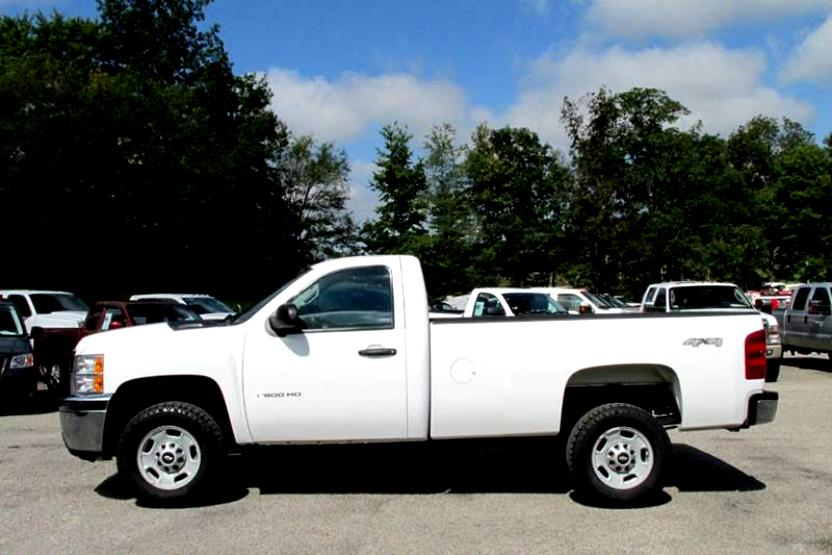 Chevrolet Silverado 2500HD Regular Cab 2008 #23