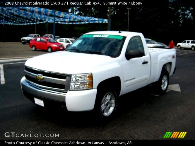 Chevrolet Silverado 2500HD Regular Cab 2008 #35