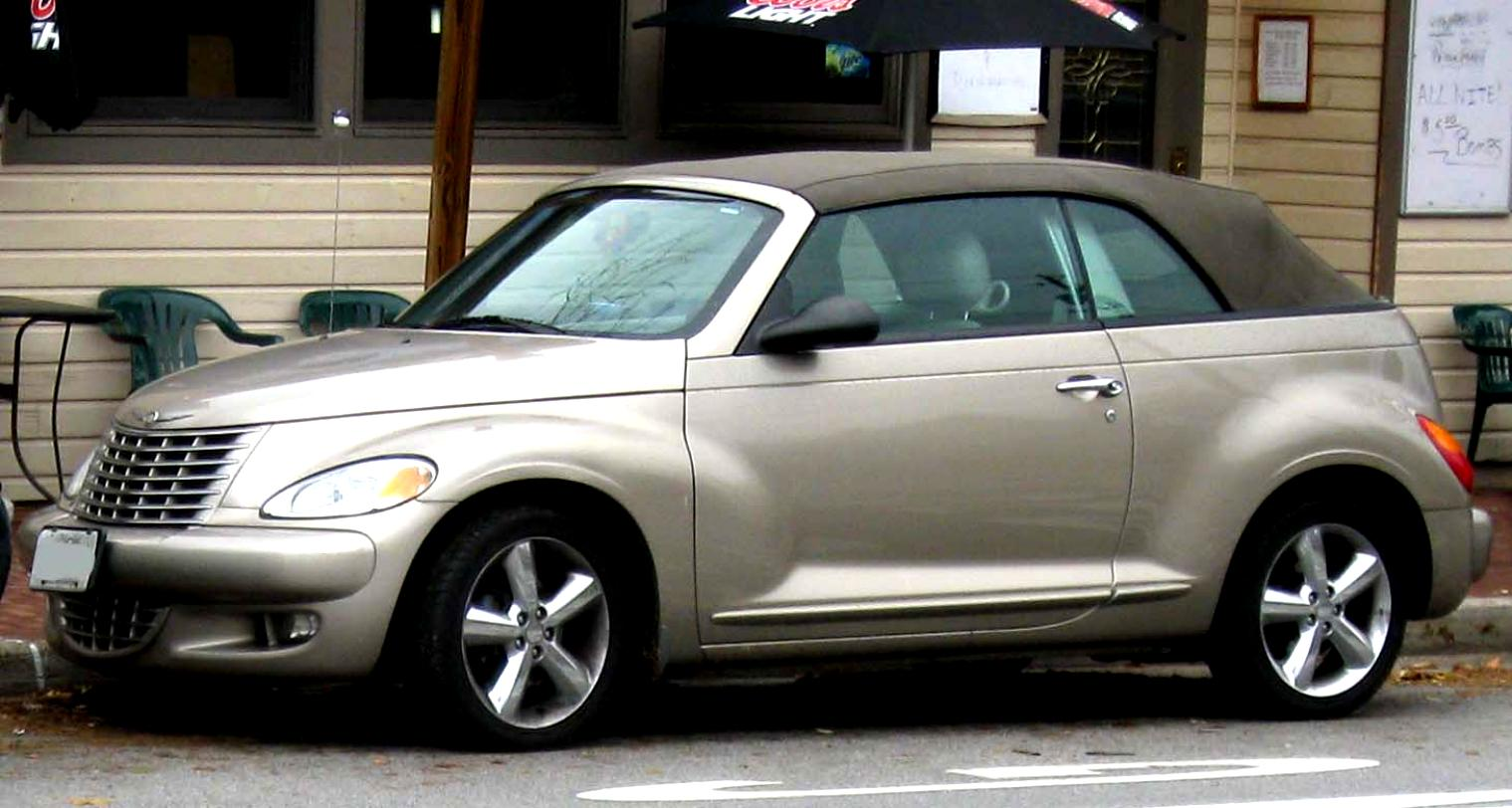 Chrysler Pt Cruiser Convertible 2004 2
