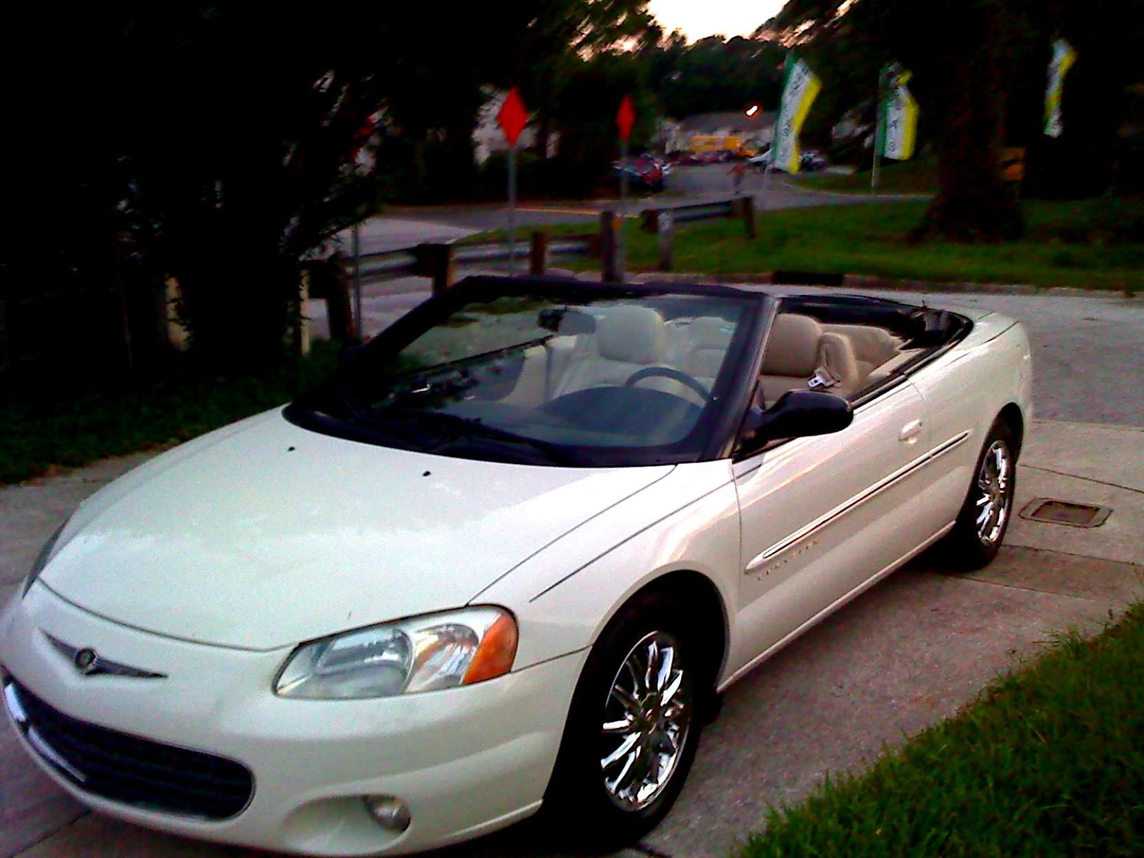 Chrysler Sebring Convertible 2001 5