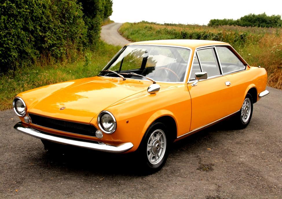 Fiat 124 Sport Coupe 1967 On Motoimg Com