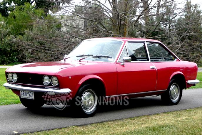 Fiat 124 sport coupe 1969 on - 1969 fiat 124 sport coupe for sale ...
