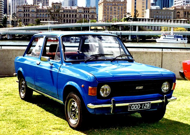 Fiat 128 Saloon 1969 On Motoimg