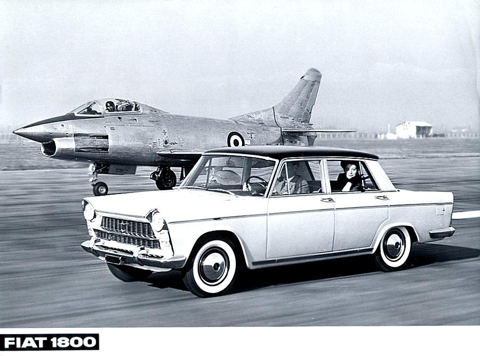 Fiat 2300 Saloon 1961 On Motoimg