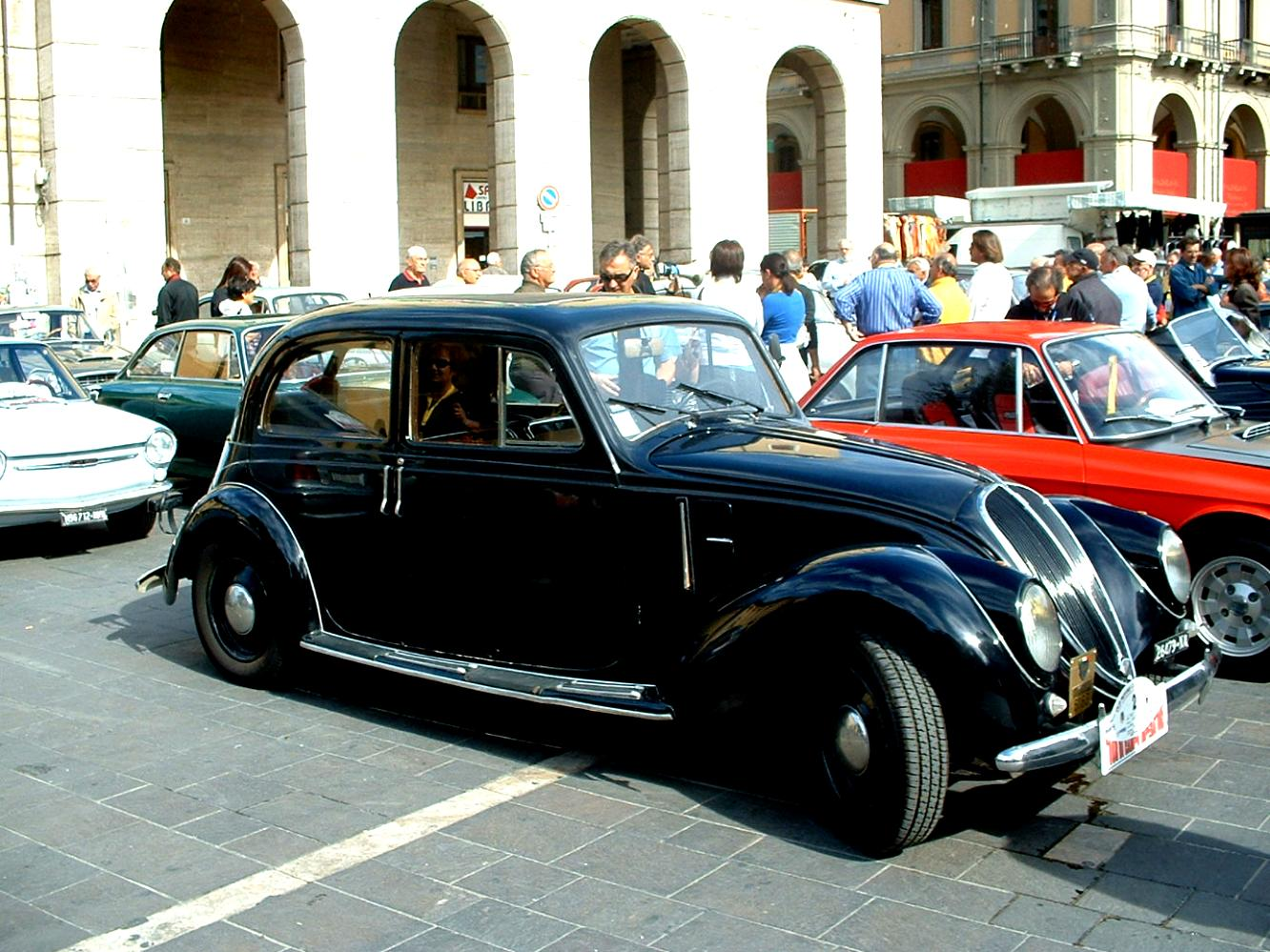 Fiat 500 Abarth Trunk Fiat 2800 Berlina 1938...