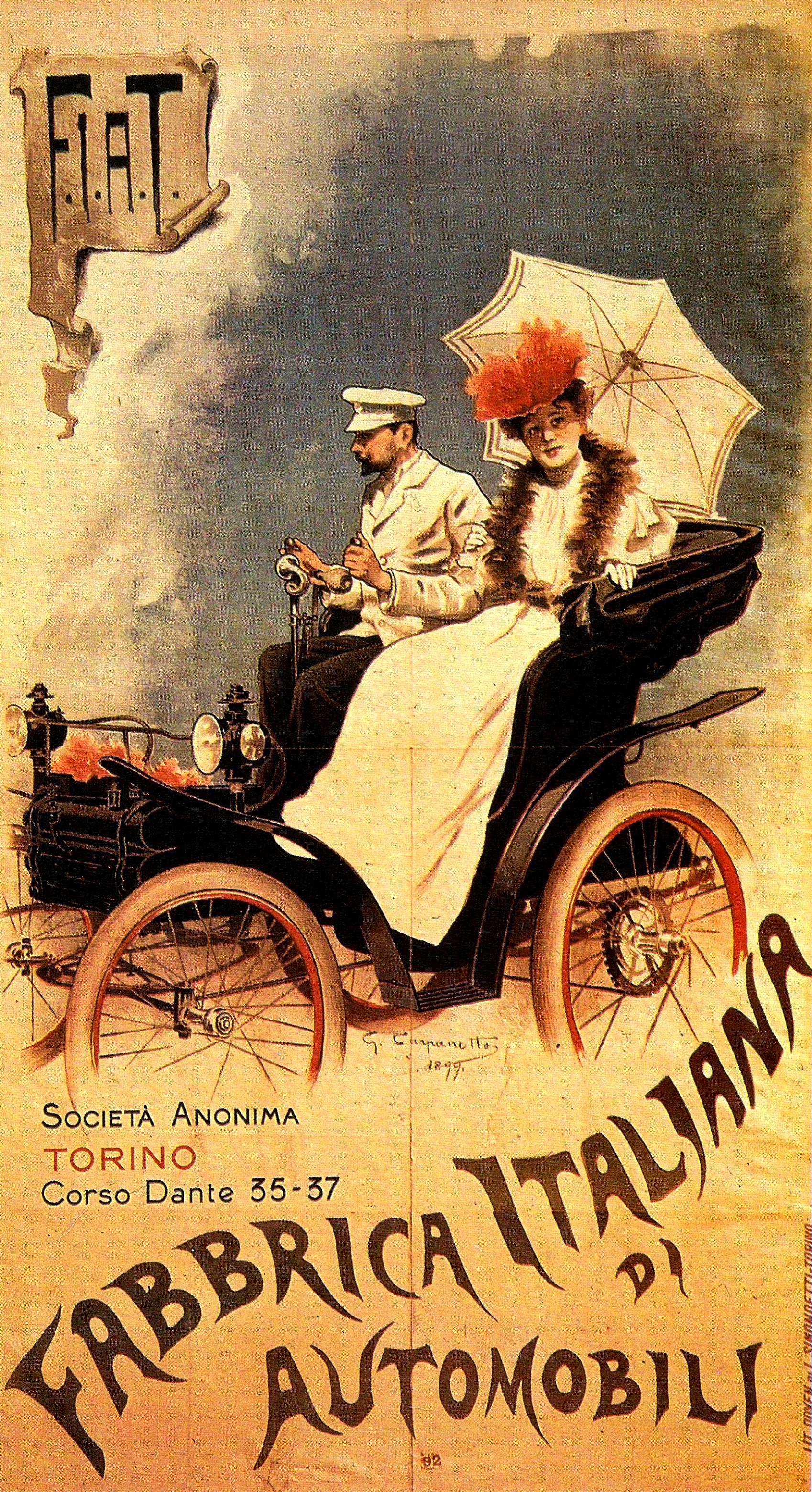 Fiat 3 1 2 Hp 1899 On Motoimg Com
