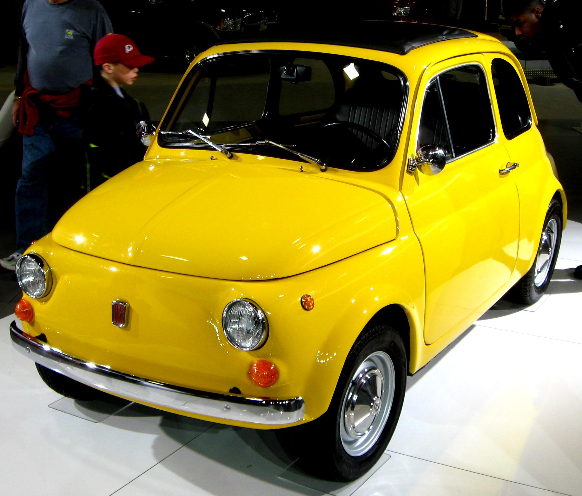 Fiat 500 R/Rinnovata 1972 On MotoImg.com