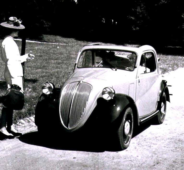 Fiat 500 Topolino 1936 On MotoImg.com
