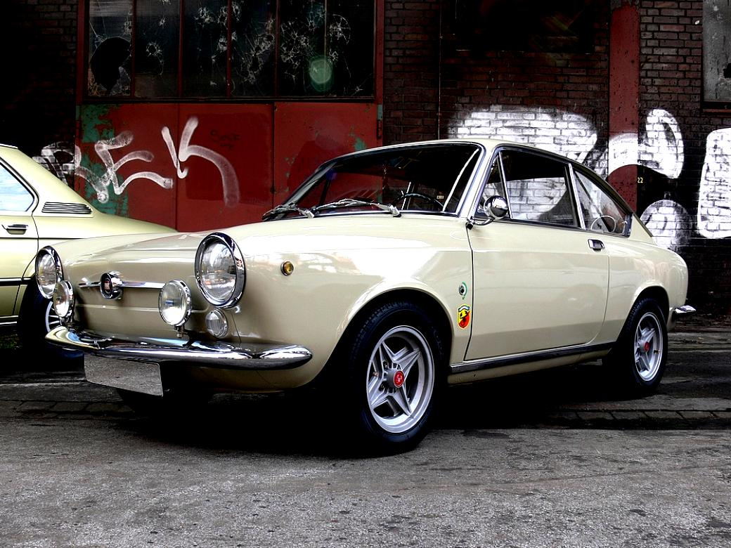 Fiat 850 Sport Coupe 1968 On Motoimg Com