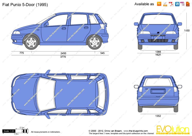 Fiat Punto Cabrio 1994 On Motoimg Com