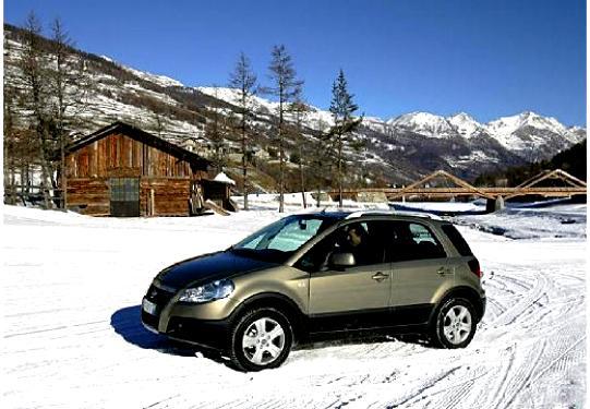 Fiat Sedici 2009 On Motoimg Com