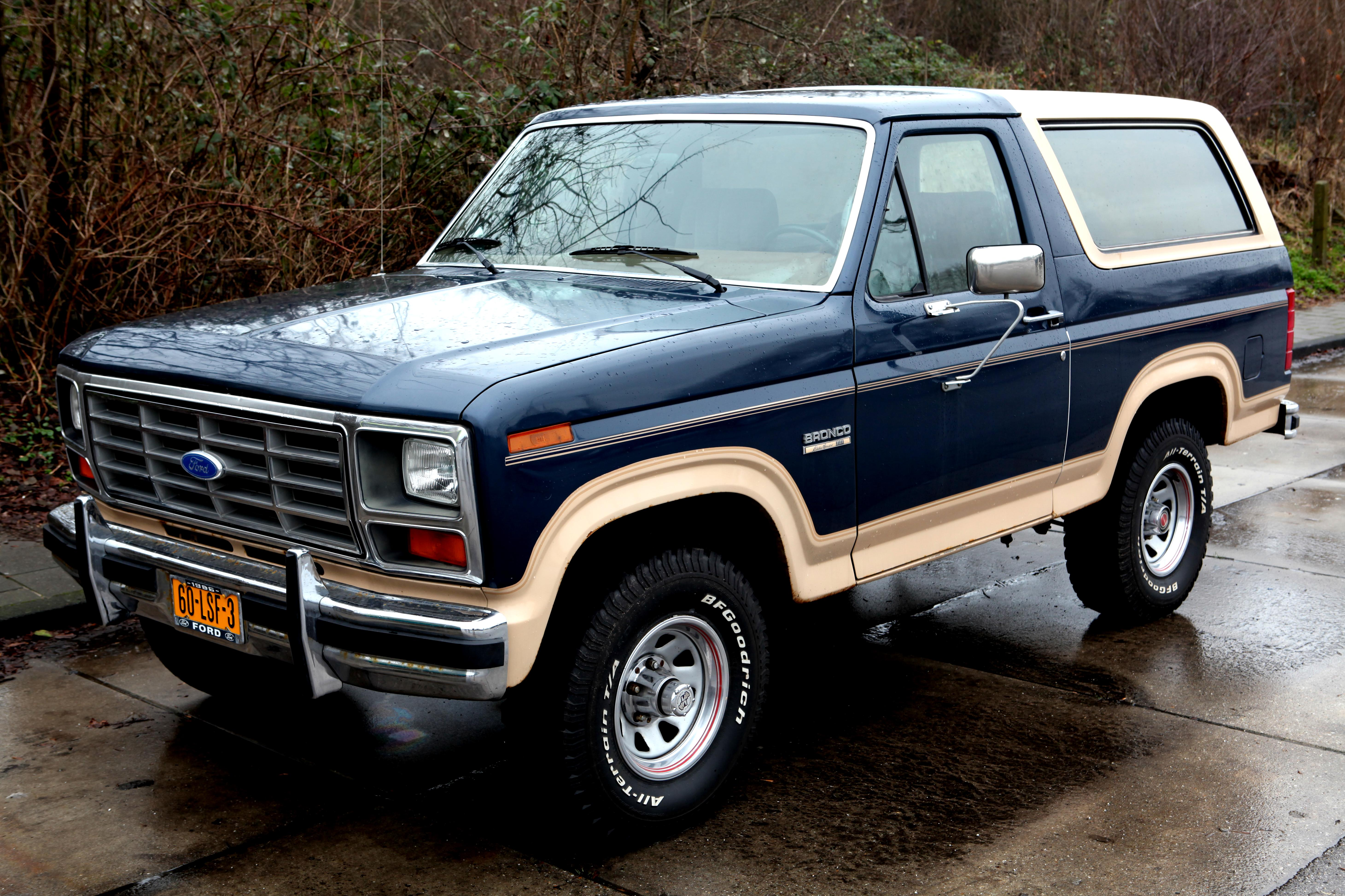 Ford Bronco 1980 #1