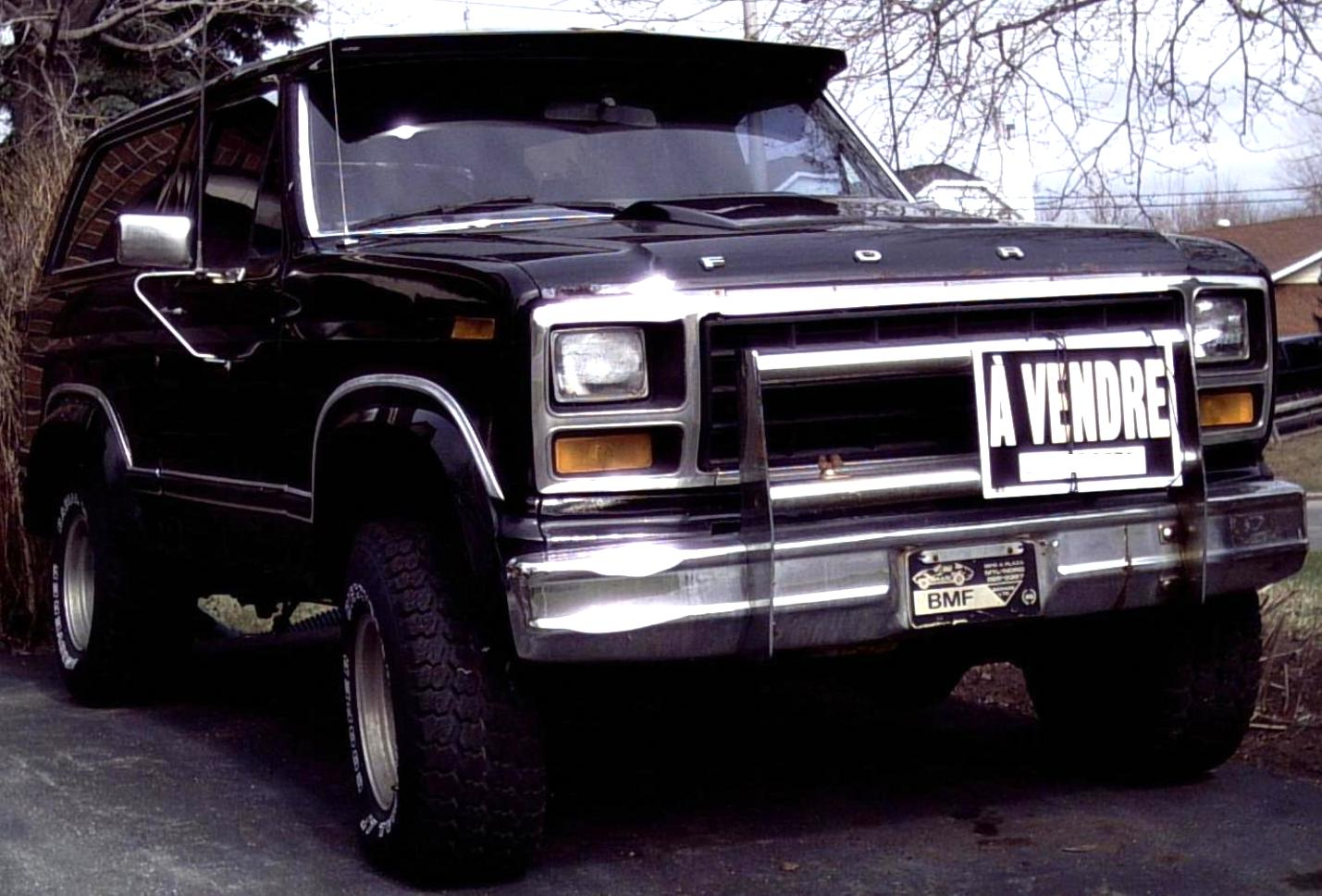 Ford Bronco 1980 #5