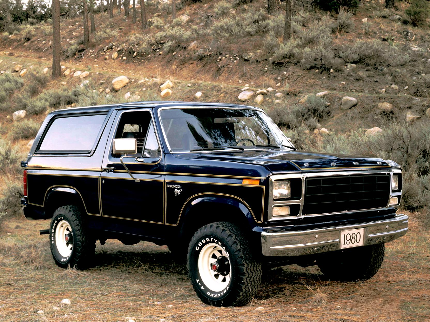 Ford Bronco 1980 #6
