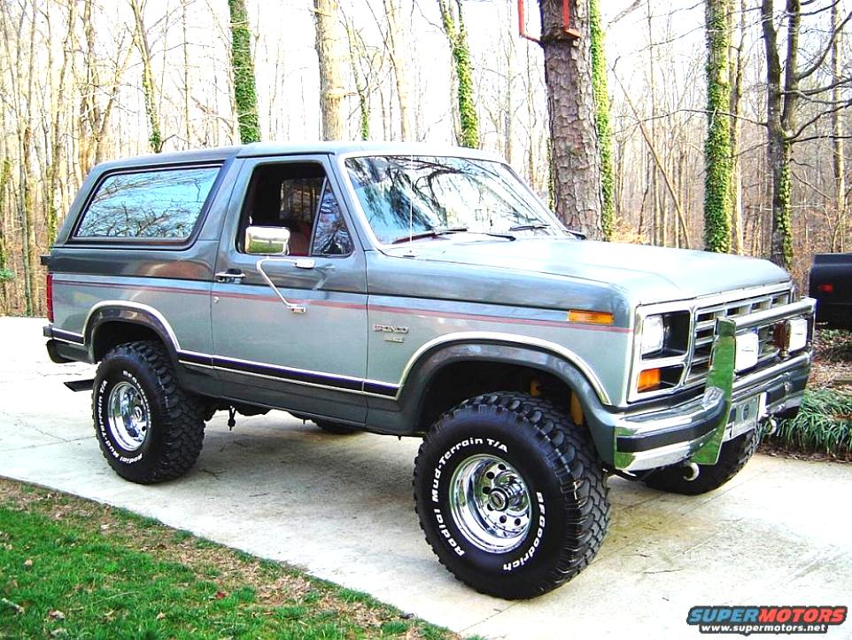 Ford Bronco 1980 #12