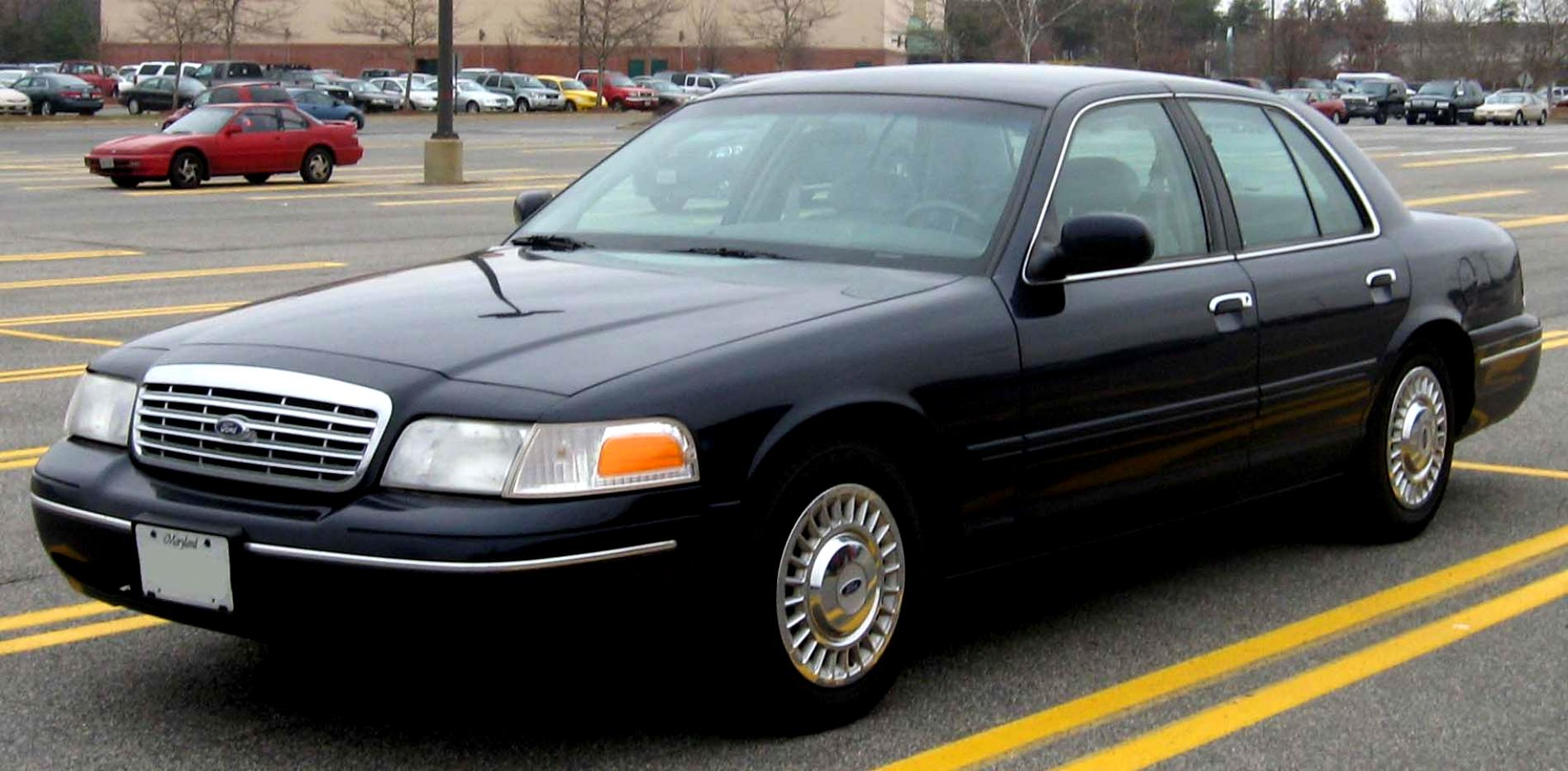 Ford Crown Victoria 1998 #5