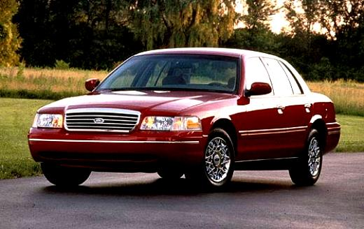 Ford Crown Victoria 1998 #6