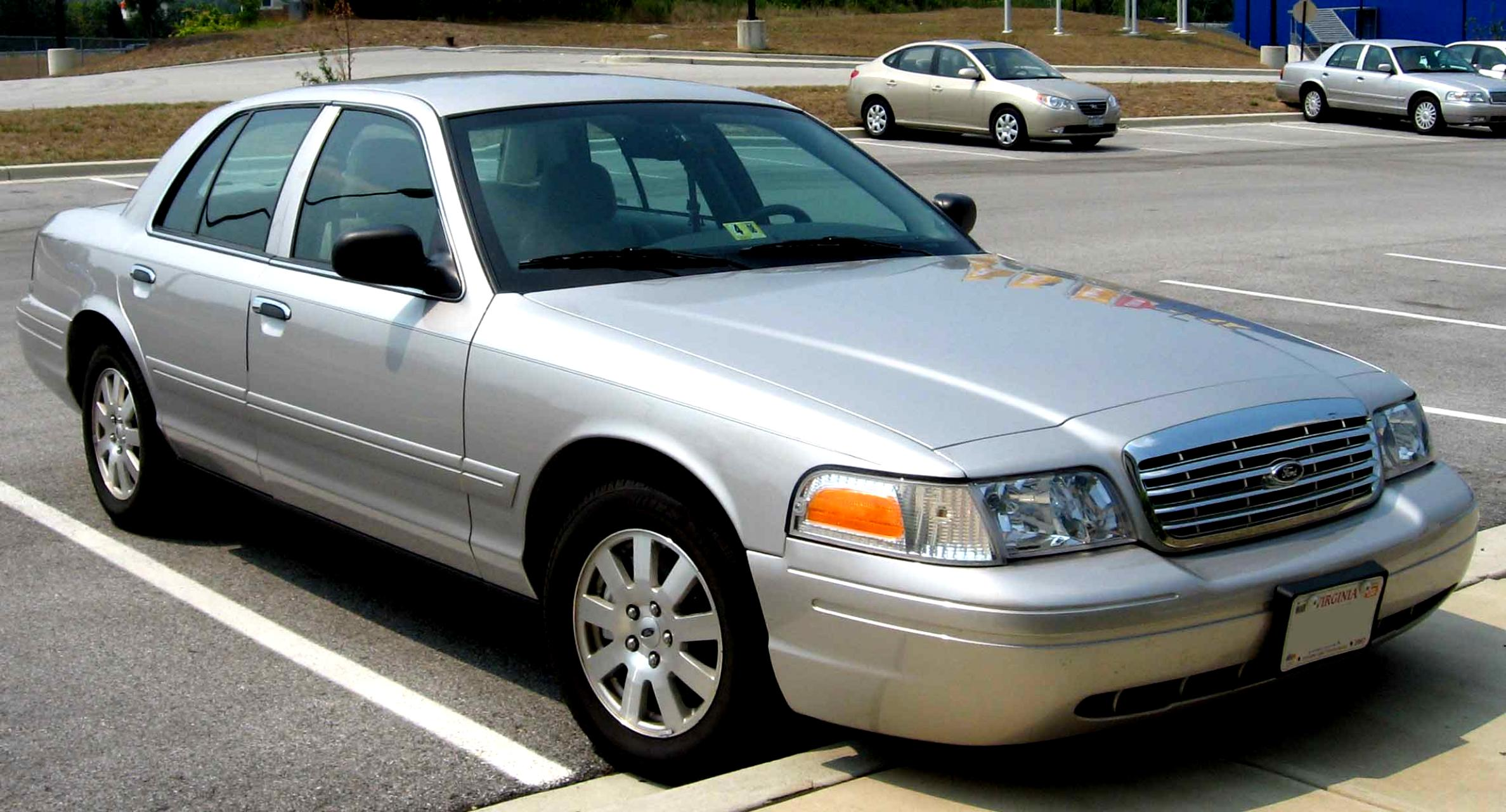 Ford Crown Victoria 1998 #7