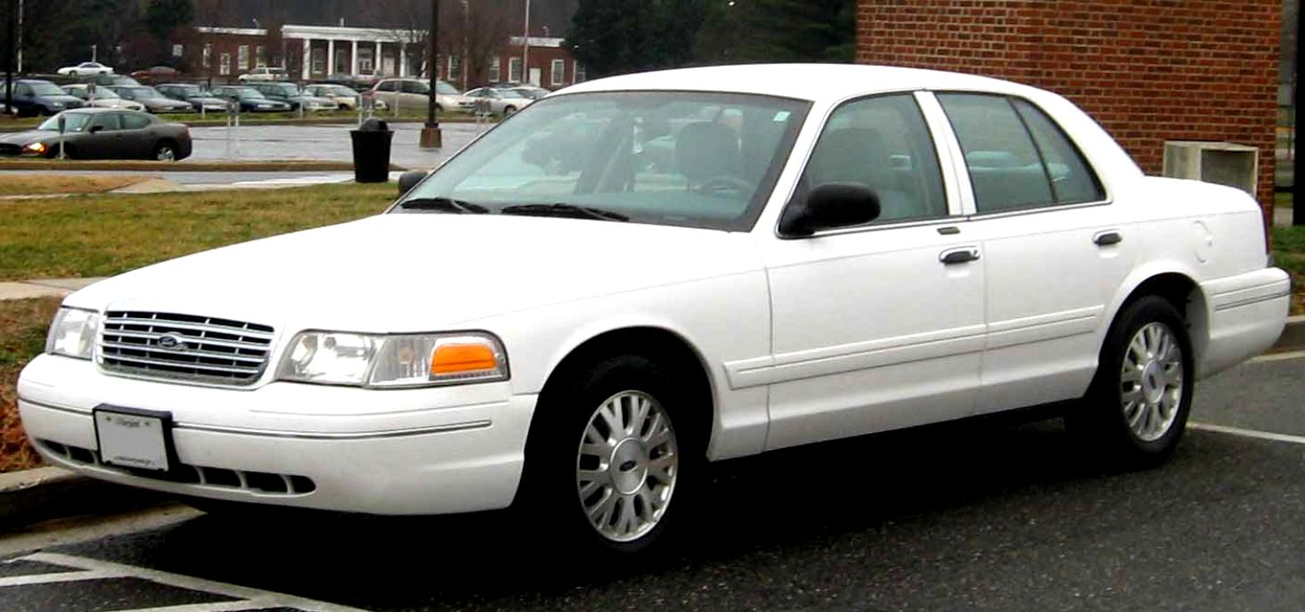 Ford Crown Victoria 1998 #9