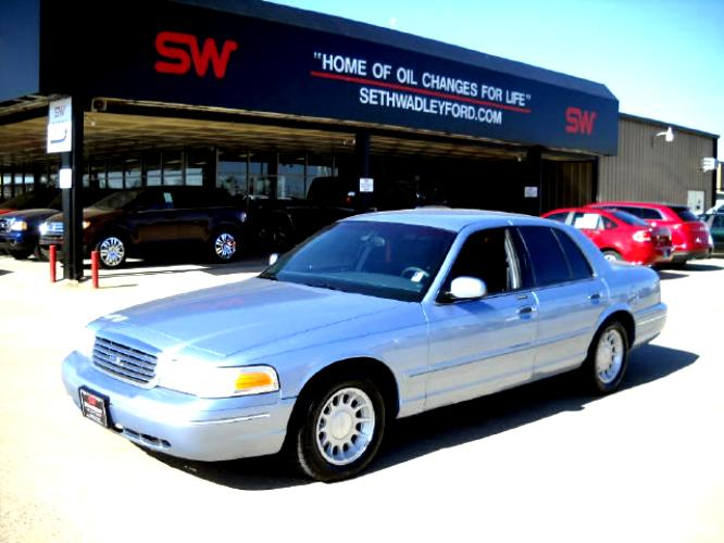 Ford Crown Victoria 1998 #57